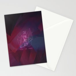 Departed Stationery Cards