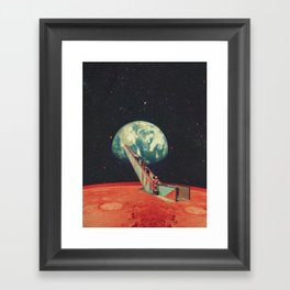 Time to go Home Framed Art Print