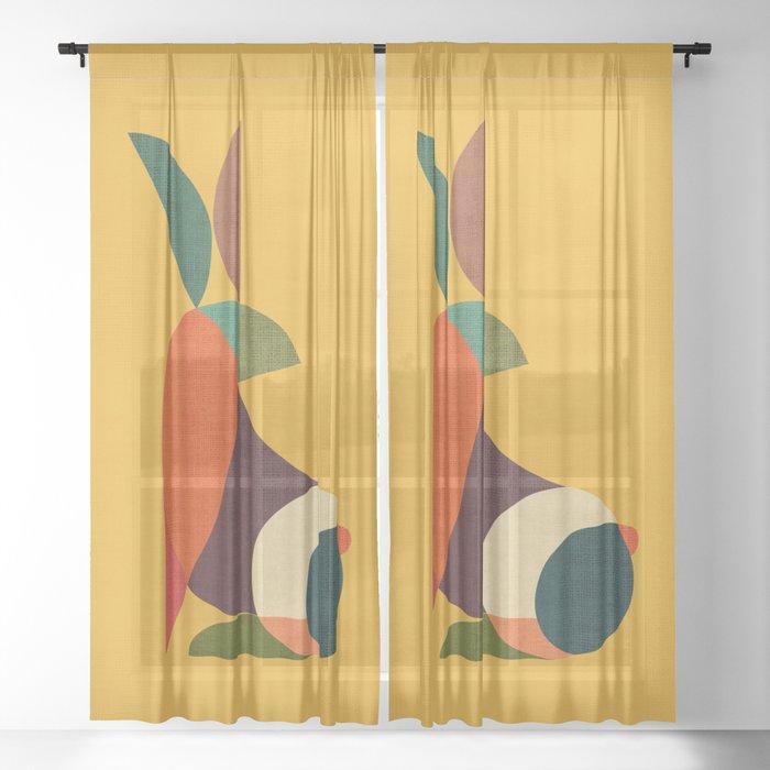 Rabbit Sheer Curtain