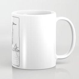 Heron and Marsh Grass Coffee Mug