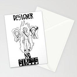 DESIGNER - NO STRESS! Stationery Cards