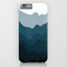 Mists No. 6 - Ombre Blue Ridge Mountains Art Print  Slim Case iPhone 6s