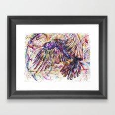 Eagle // Abuelo/A Framed Art Print