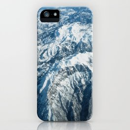 Snow mountains iPhone Case