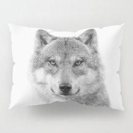 Wolf Portrait Pillow Sham