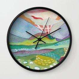 Meadowlark West Wall Clock