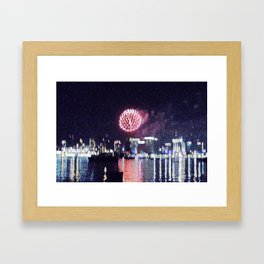 Hot Miami Nights Framed Art Print