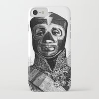 wrestling iPhone & iPod Cases featuring WRESTLING MASK 10 by DIVIDUS