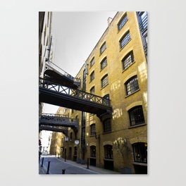 Butlers wharf London Canvas Print