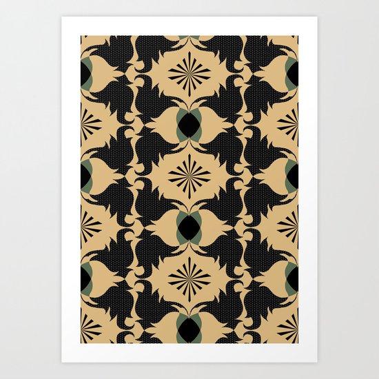 Blast Art Print