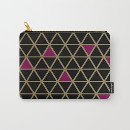 Golden Luxury Carry-All Pouch