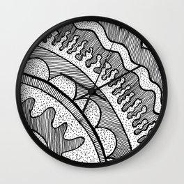 Lines & Dots Wall Clock