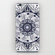 Hearts and Buddha Mandala iPhone & iPod Skin