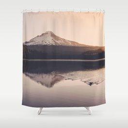 Wild Mountain Sunrise Shower Curtain