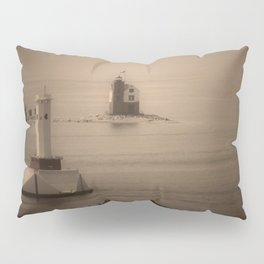 A Lighthouse & Beacon Pillow Sham