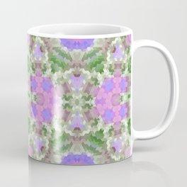 Elegant ornament, ornament, lilac and green, starsic ornament, tribal , rustic, creative, popular, green, lilac Coffee Mug
