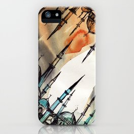 Cross Continents iPhone Case