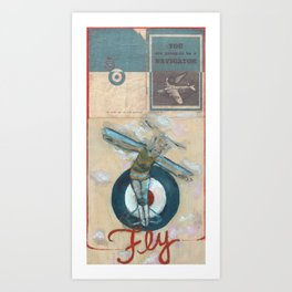 The Navigator Art Print