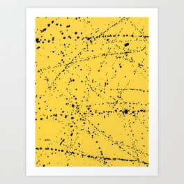 Dazed + Confused [Yellow] Art Print