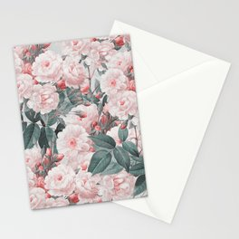 Vintage Flower pattern Stationery Cards