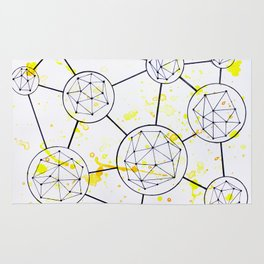 Geometric Connections Rug