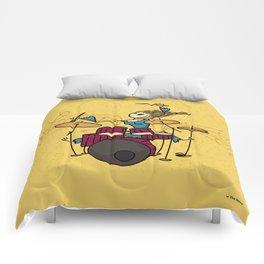 Crazy drummer Comforters