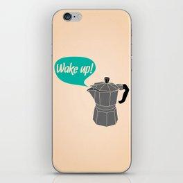 Wake Up! iPhone Skin