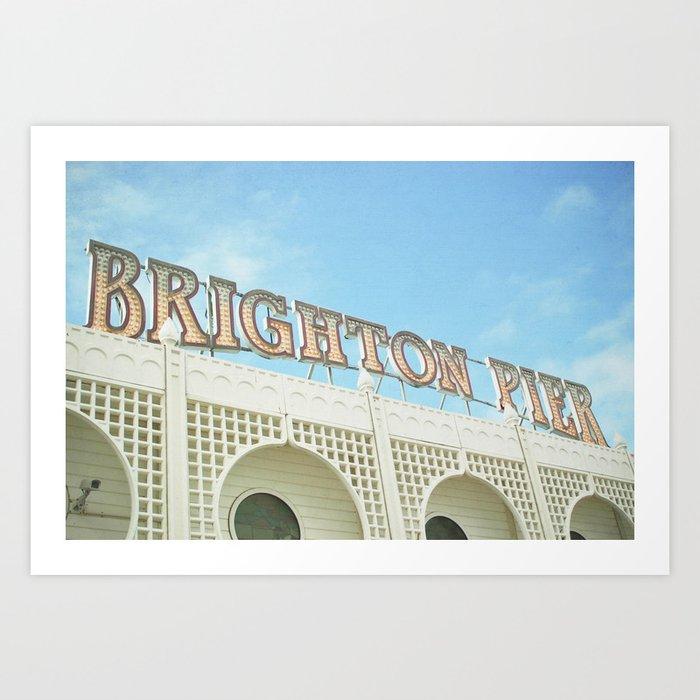 Brighton Lights Art Print