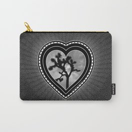 Joshua Tree Heart of the Hi-Desert by CREYES Carry-All Pouch