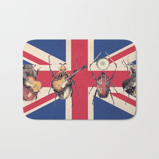 Meet the Beetles (Union Jack Option) Bath Mat