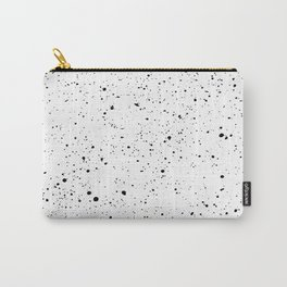 BLACK INK SPLOTCHES Carry-All Pouch