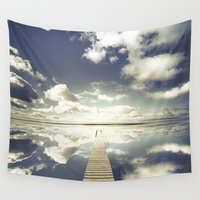 outdoor Wall Tapestries featuring Vanity by HappyMelvin