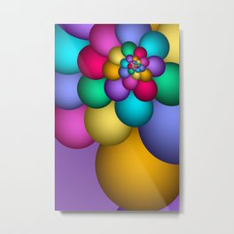 turn around with colors -58- Metal Print