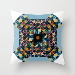 Kandy kaos Throw Pillow