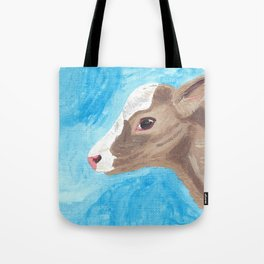 A Heifer Calf Named Keely Tote Bag