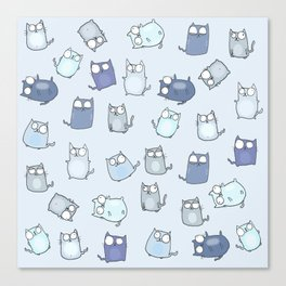 Cute Cats! Canvas Print