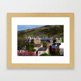 Hollyrood Palace - Edinburgh, Scotland Framed Art Print