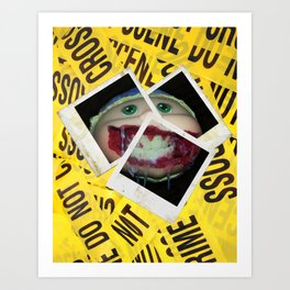 Infected Youth Art Print