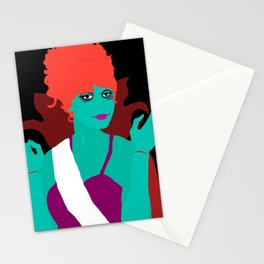 Miss Argentina Portrait Stationery Cards