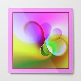 framed vortex -1- Metal Print