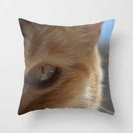 Pocko's Peepers Throw Pillow