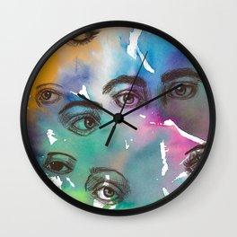 EYE see you Wall Clock