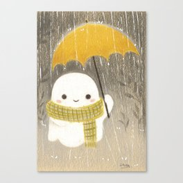Under the rain Canvas Print