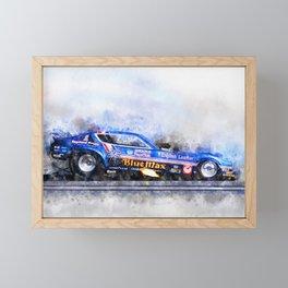Raymond Beadle, Blue Max Framed Mini Art Print