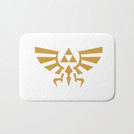 Zelda Triforce Bath Mat