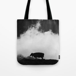 cow and cloud Tote Bag