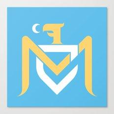 MCFC Type Logo Canvas Print