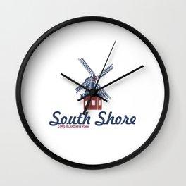 South Shore - Long Island. Wall Clock