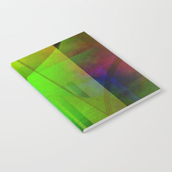 Multicolored abstract 2016 / 006 Notebook