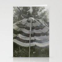 umbrella Stationery Cards featuring Umbrella by Anja Hebrank